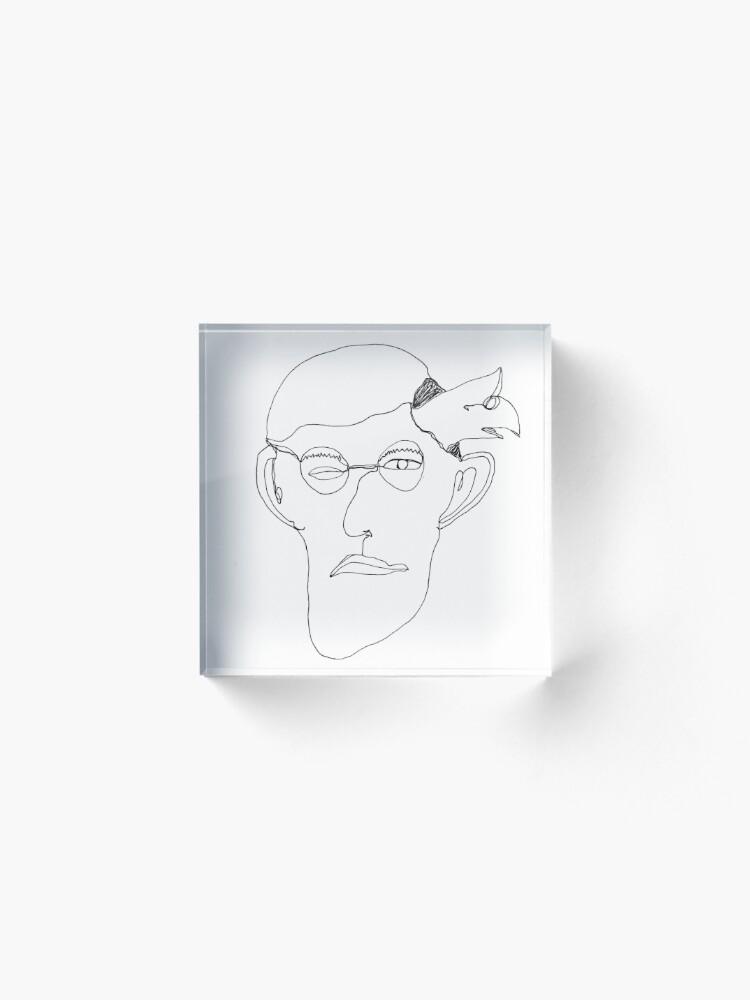 Alternative Ansicht von self-portrait Acrylblock