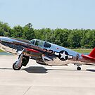 """""""INA The Macon Belle"""" North American P51-C Mustang by Mark Kopczewski"""