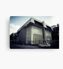 a substation and a trabant Canvas Print