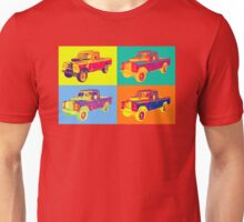1971 Land Rover Pick up Truck Pop Art Unisex T-Shirt