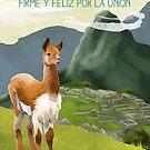Peru Travel Poster by finchfish