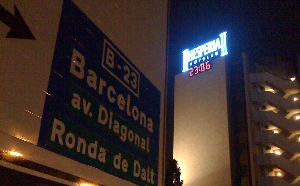 Barcelona by clochette