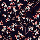 Blush blooms by bound-textiles