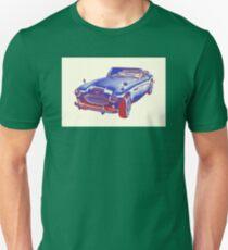 Austin Healey 300 Sports Car Pop Image Unisex T-Shirt