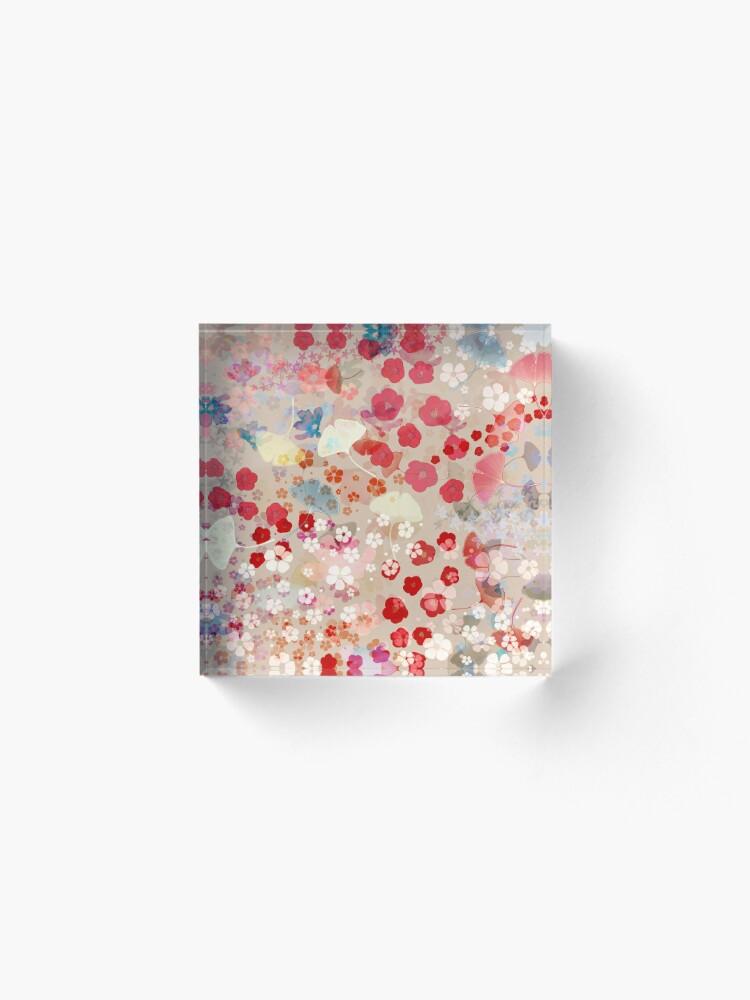 Alternate view of Blossom Acrylic Block