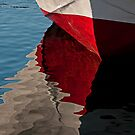 Reflections on Red, White and Blue. by Mike Oxley
