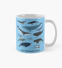 Know Your Baleen Whales Mug