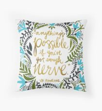 Anything's Possible Throw Pillow