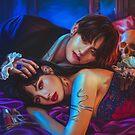 The Vampires love by Ellen-Drawings