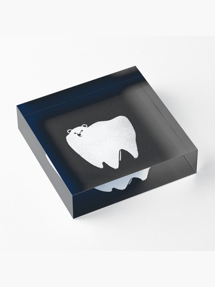 Alternate view of Molar Bear Acrylic Block
