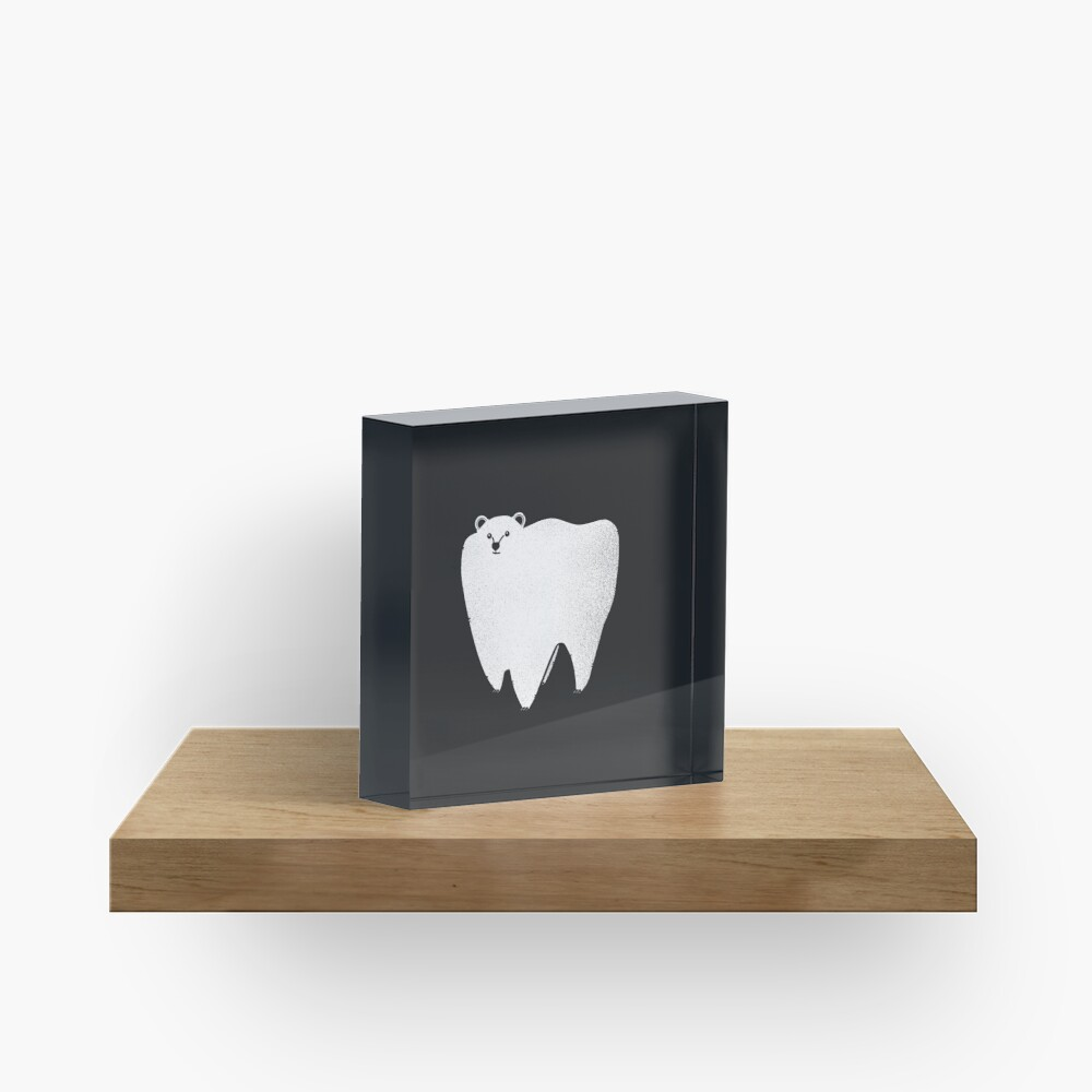 Molar Bear Acrylic Block