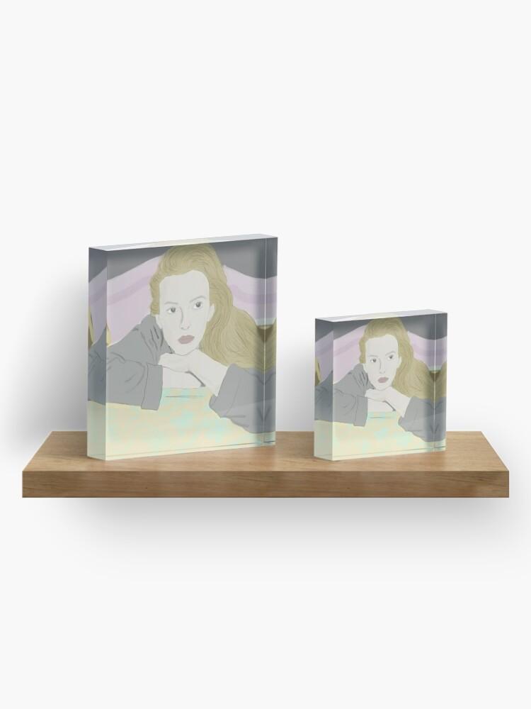Alternate view of Villanelle Season 2 Portrait Acrylic Block
