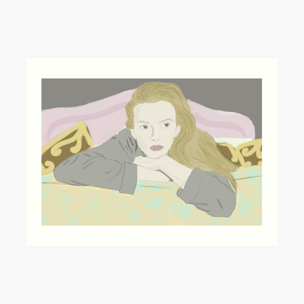 Villanelle Season 2 Portrait Art Print