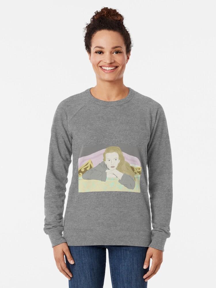 Alternate view of Villanelle Season 2 Portrait Lightweight Sweatshirt
