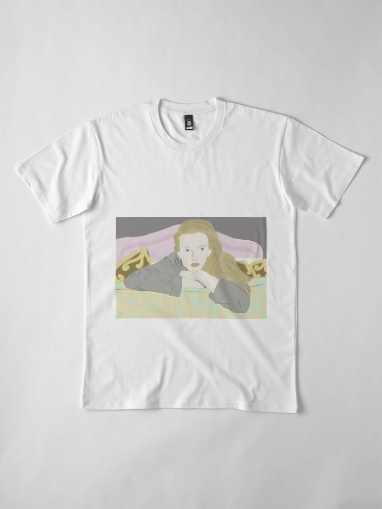 Alternate view of Villanelle Season 2 Portrait Premium T-Shirt
