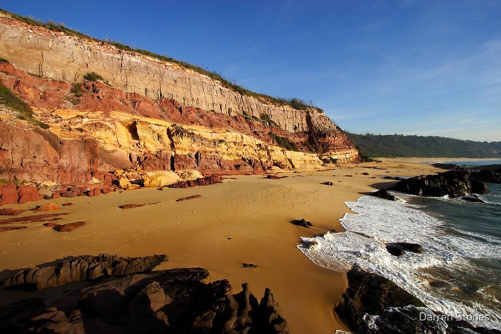 Middle Beach at Merimbula by Darren Stones