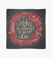 Coffee on Charcoal Scarf