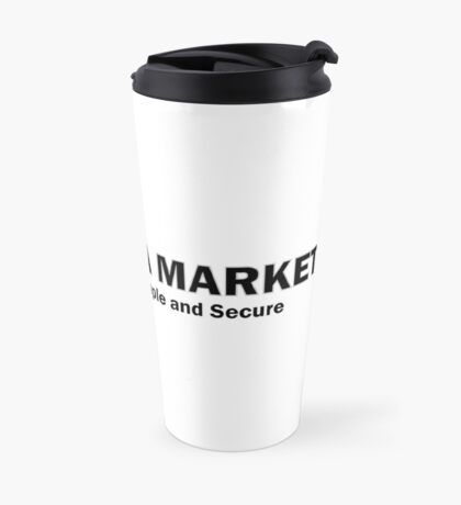Cryptonia Market! Travel Mug