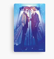 Ten and Eleven Canvas Print