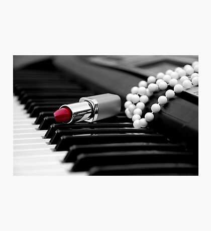 Piano Passion Photographic Print