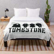 MOVIES: TOMBSTONE BLACK Throw Blanket