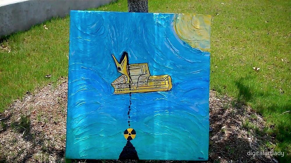 Pelican Casket by digitalartlady