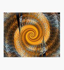 'The Infinite Spiral' Photographic Print