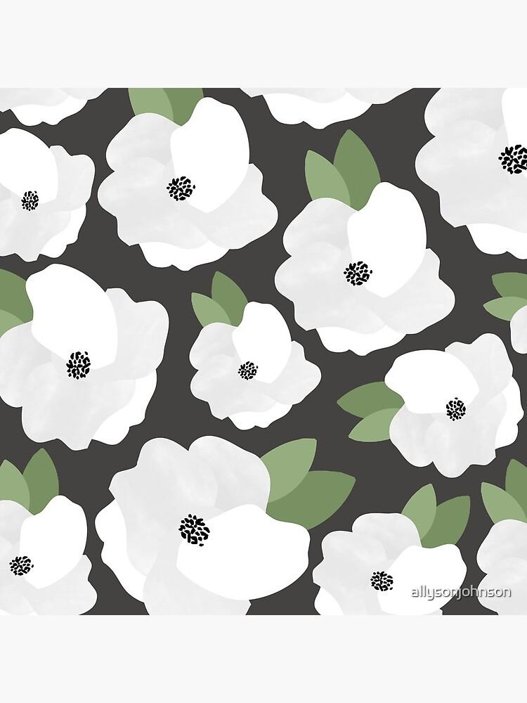 Romantic Floral Pattern de allysonjohnson