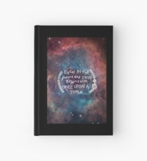The Lunar Chronicles Space Quote Hardcover Journal
