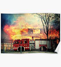 Detroit Fire Department  Poster