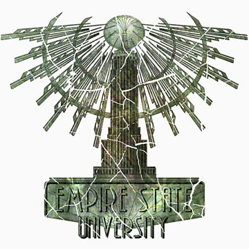 Empire State University  - Distressed by channandeller