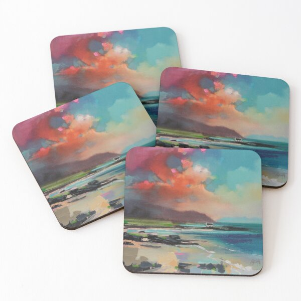 Rum From South Uist Coasters (Set of 4)