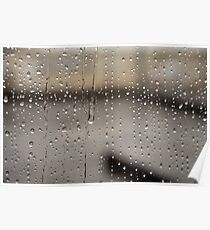 Spiritual Kloth For The Love of Rain by Kordial Orange Poster