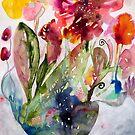 «fantasía floral» de Marianna Tankelevich