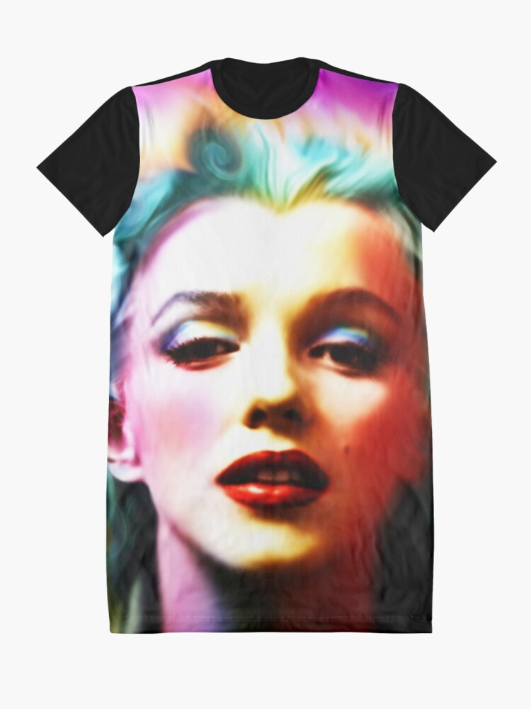 Alternate view of She is like a Rainbow Graphic T-Shirt Dress
