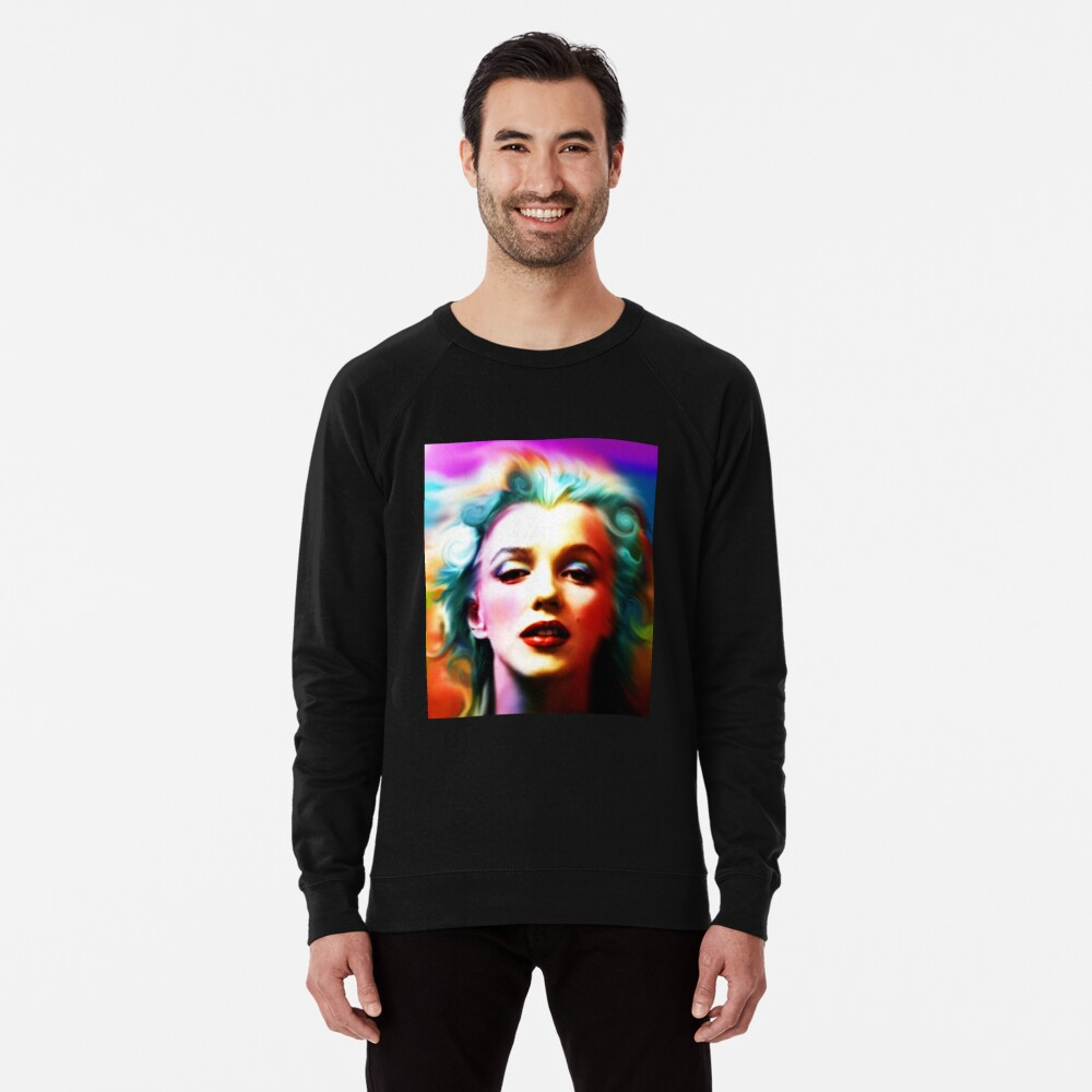 She is like a Rainbow Lightweight Sweatshirt