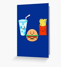 HAPPY MEAL Greeting Card