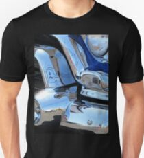 1955 GMC Pickup Street Rod Chrome Bumper - Liquid Metal T-Shirt
