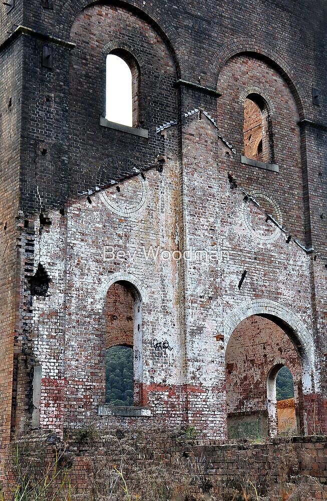 Lithgow Blast Furnace Ruins by Bev Woodman