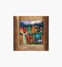 The Curious Library Calendar - June Art Board Print