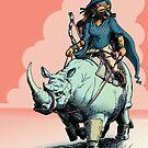 Rhino Rider by Charlie Potter