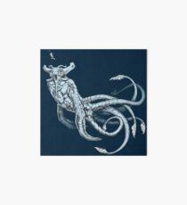Sea Emperor Transparent Art Board Print
