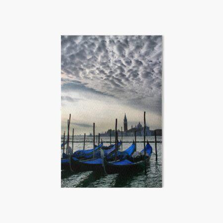 Gondolas on the Lagoon Art Board Print