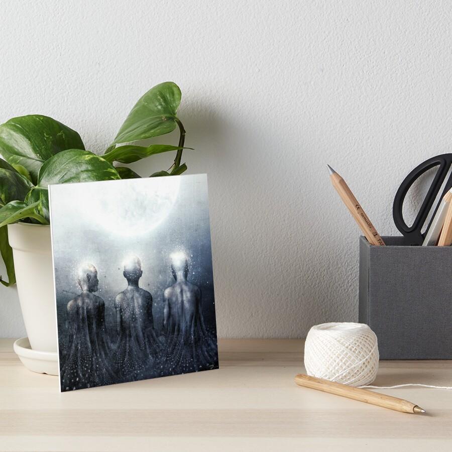 Ghost of Jatun Art Board Print