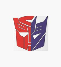 Transformadores Autobot / Decepticon Lámina rígida
