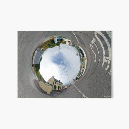 Glencolmcille - Biddy's Crossroads Pub(Sky-in) Art Board Print