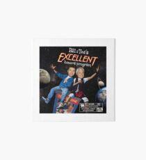 Bill & Teds Excellent Honours Program (mit Bewertung) Galeriedruck
