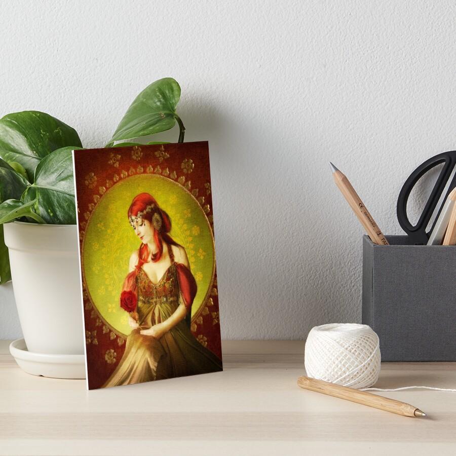 Love Art Board Print