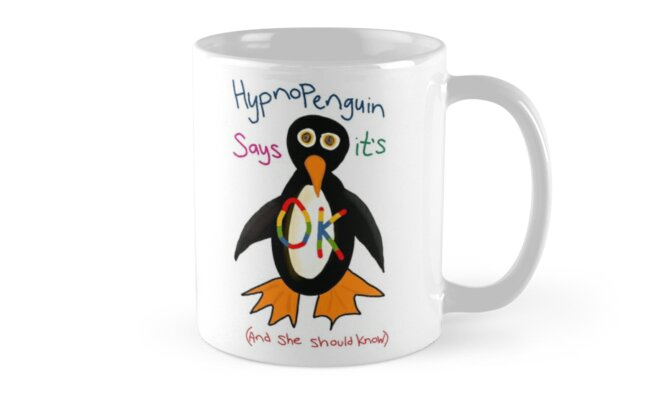 Hypnopenguin says it's OK! Classic Mugs
