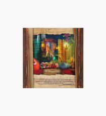 The Curious Library Calendar - March Art Board Print